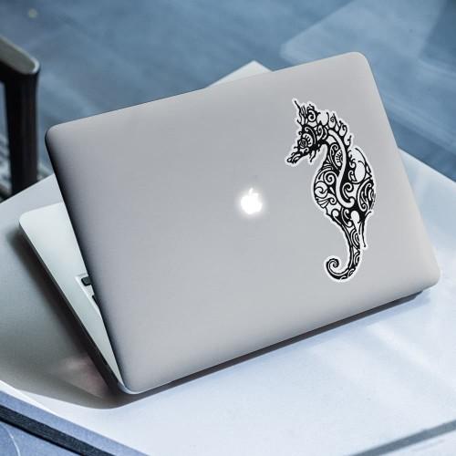 Stickers autocollants Baleine à Bosse noir fond blanc