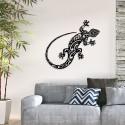 Décoration murale en métal - GECKO SALAMANDRE