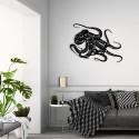Décoration murale en métal - PIEUVRE / POULPE
