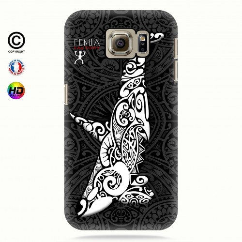 Coque galaxy s6 Orque B&W