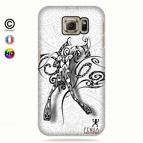 coque galaxy s6 b&w diving