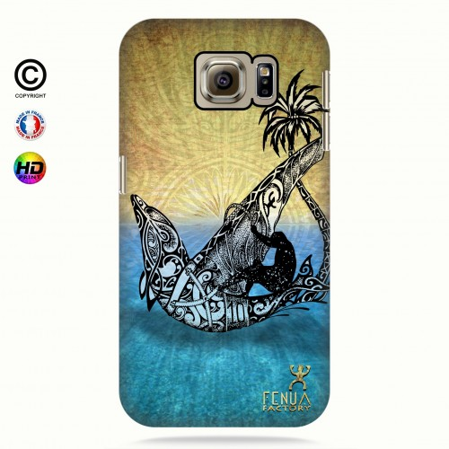 coque galaxy s6 Dolphin Sailboard