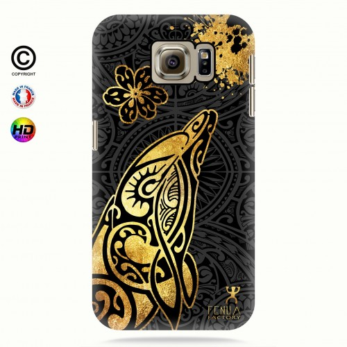 Coque galaxy s6 Dauphin Gold