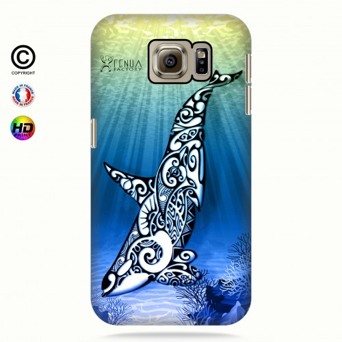 Coque galaxy s6 Orca Under the Sea