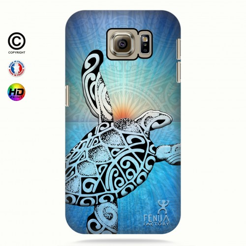 Coque galaxy s6 Turtle Sunset