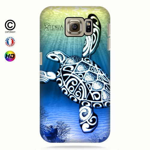 Coque galaxy s6 Turtle Under the Sea
