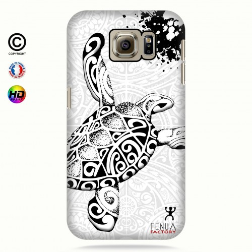 Coque galaxy s7 Tortue B&W