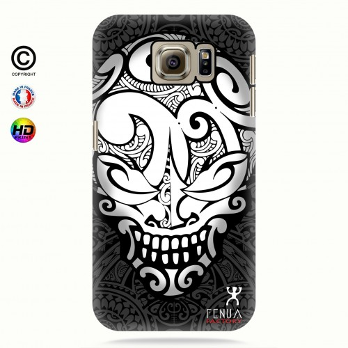 coque galaxy s7 Big B&W Skulls