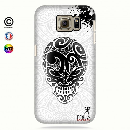 coque galaxy s7 B&W Skulls
