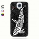 Coque galaxy s4 Orque B&W