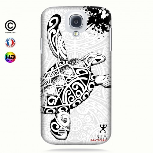 Coque galaxy s4 Tortue B&W