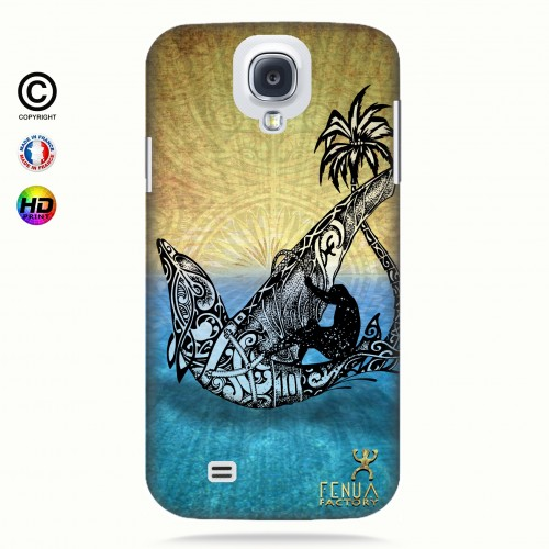coque galaxy s4 Dolphin Sailboard