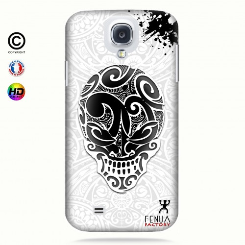 coque galaxy s4 B&W Skulls