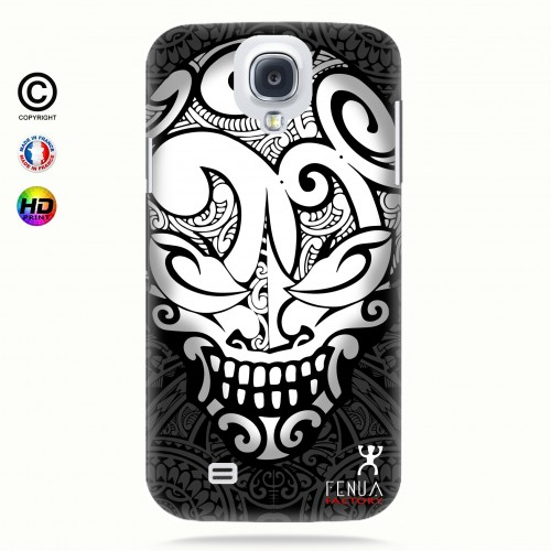 coque galaxy s4 Big B&W Skulls