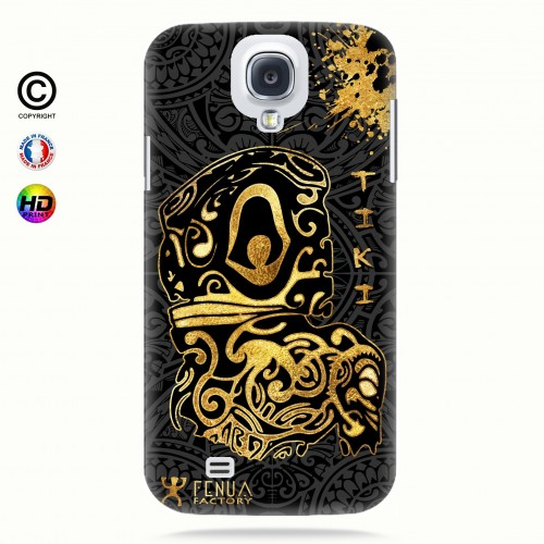 Coque galaxy s4 Tiki Gold