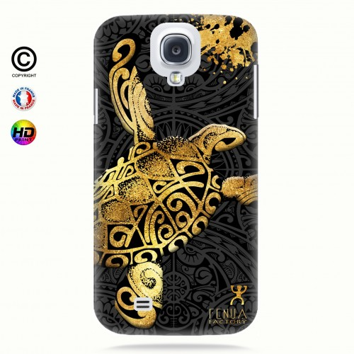 Coque galaxy s4 Tortue Gold