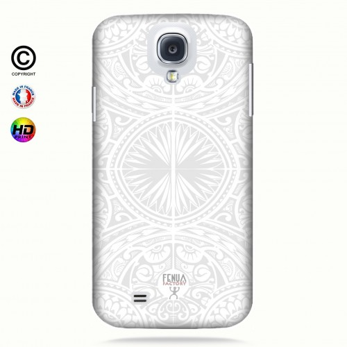 coque galaxy s4 tribal frieze b&w +