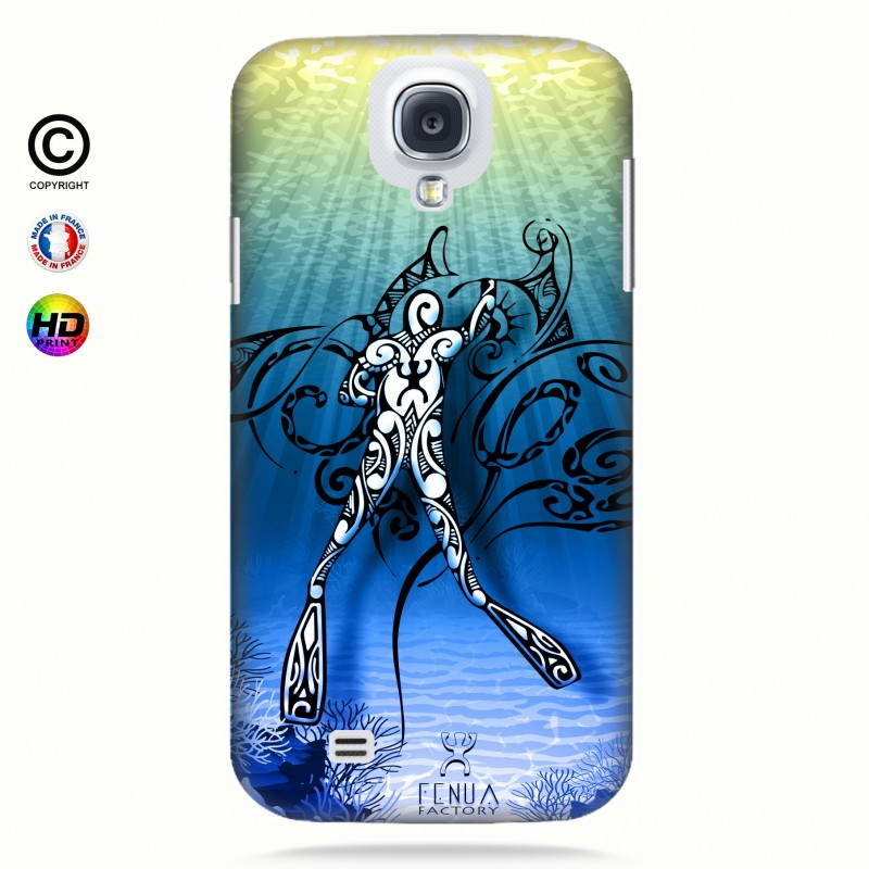 Coque galaxy s4 Diving Under the Sea