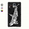 Coque galaxy s5 Orque B&W
