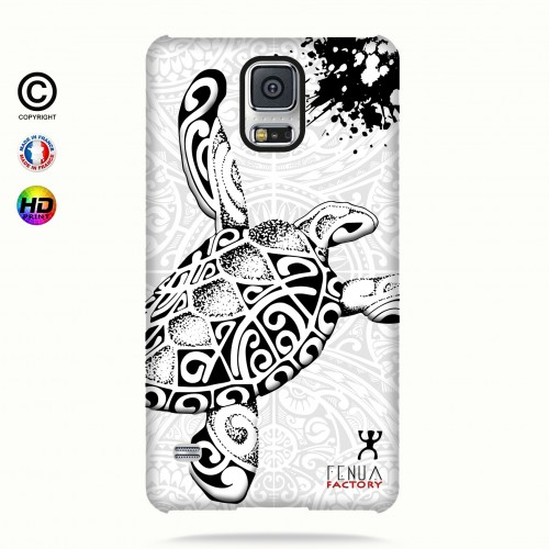 Coque galaxy s5 Tortue B&W