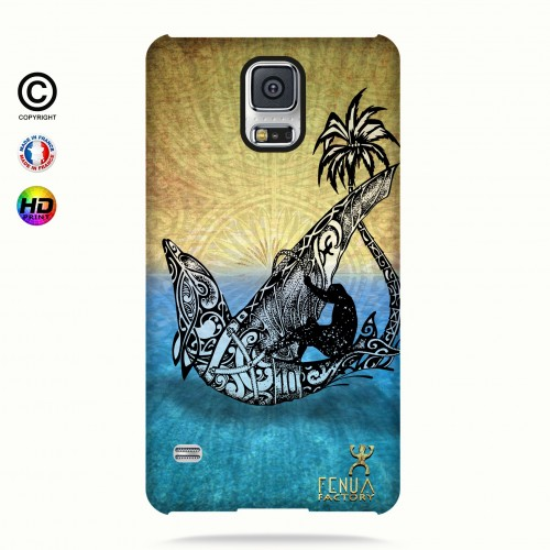coque galaxy s5 Dolphin Sailboard