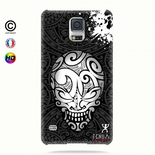 coque galaxy s5 B&W Skulls