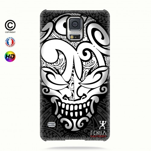 coque galaxy s5 Big B&W Skulls