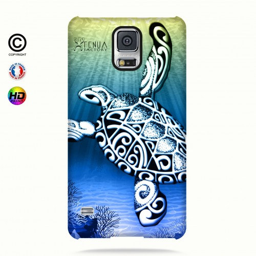 Coque galaxy s5 Turtle Under the Sea
