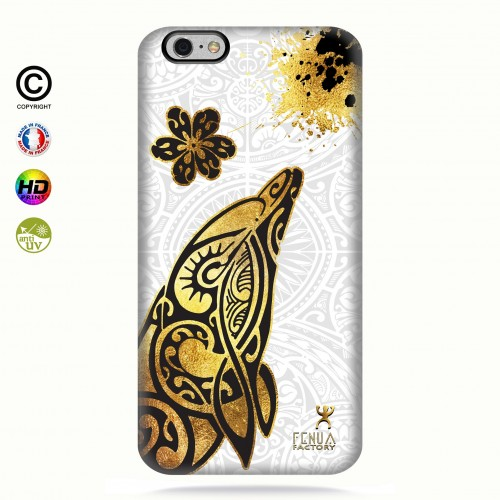Coque iphone 6+/6S+ Dauphin Gold