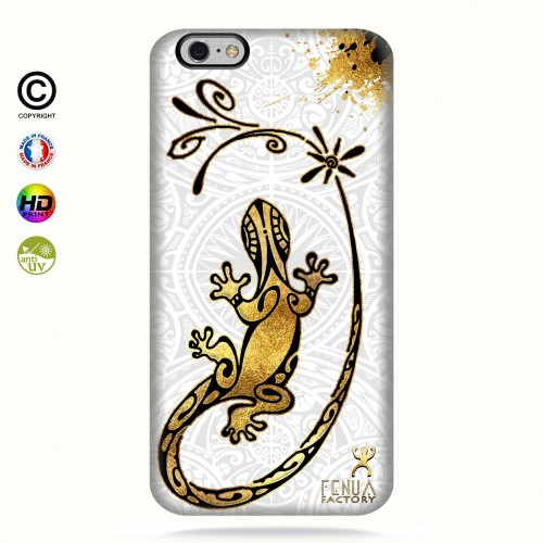Coque iphone 6+/6S+ Gecko Gold