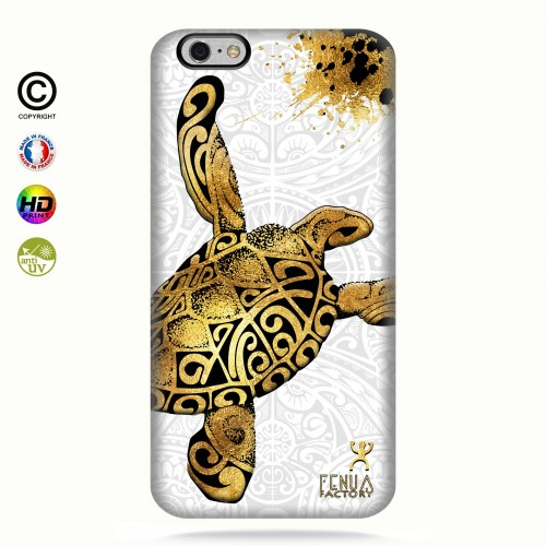 Coque iphone 6+/6S+ Tortue Gold