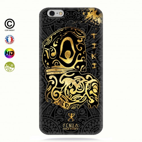 Coque iphone 6-6s Tiki Gold