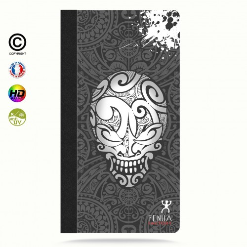 coque iphone 6+/6S+ B&W Skulls