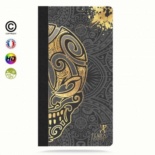 coque iphone 6+/6S+ Mid Gold Skulls