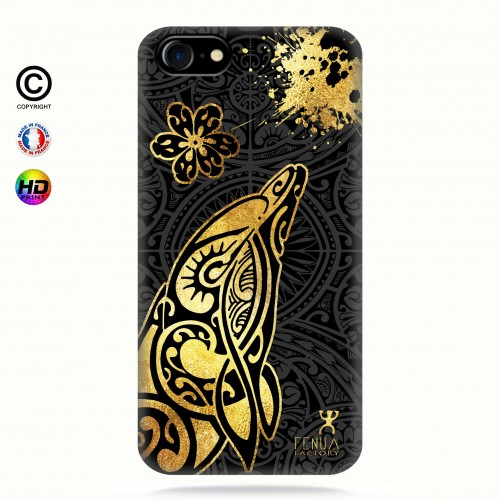 Coque iphone 7 Dauphin Gold