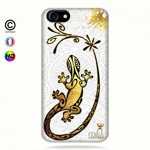 Coque iphone 7 Gecko Gold