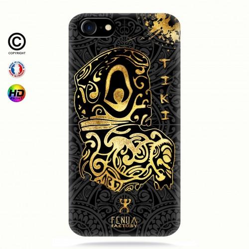 Coque iphone 7 Tiki Gold