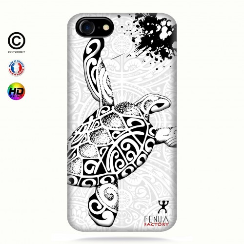 Coque iphone 7 Tortue B&W