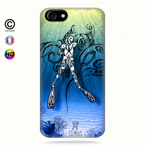 Coque iphone 7 Diving Under the Sea