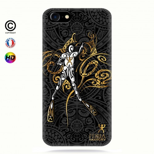 coque iphone 7 gold diving