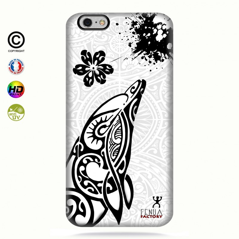 Coque iphone 6-6s Dauphin B&W