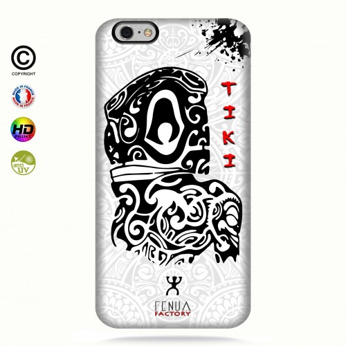 Coque iphone 6-6s Tiki B&W