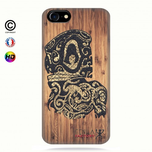 coque iphone 7 Tribal Bamboo Tiki