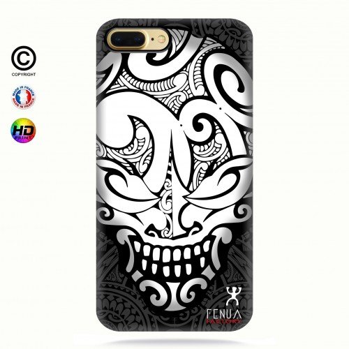 coque iphone 7 Big B&W Skulls