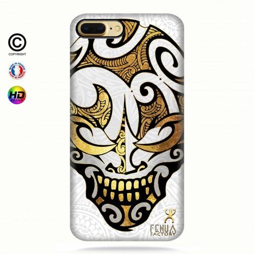 coque iphone 7 Big Gold Skulls