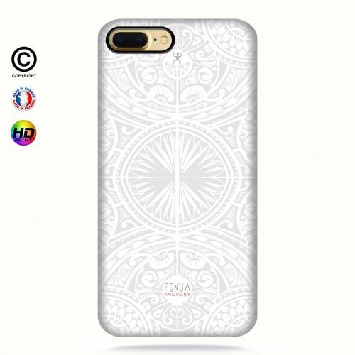 coque iphone 6+/6s+ tribal frieze b&w +