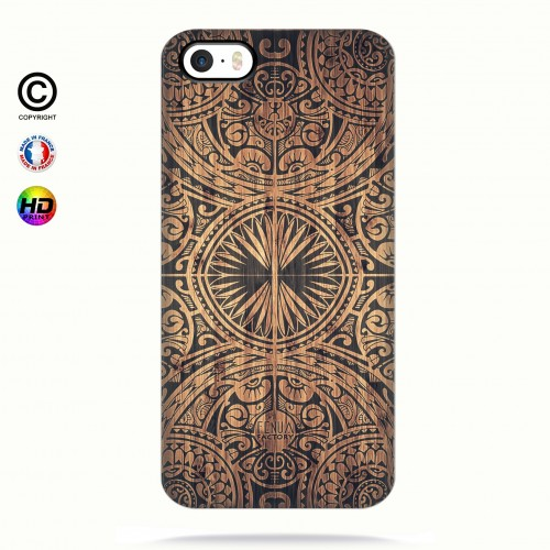 Coque iphone 5-5s-5se tribal bamboo