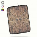 Housse universelle 12 pouces ipad Air 1-2-Pro 9.7 tribal bamboo