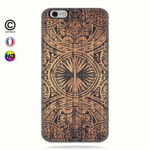 Coque iphone 6+/6S+ tribal bamboo