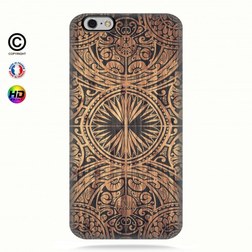 Coque iphone 6-6s tribal bamboo